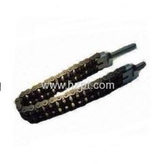 Steel Conveyor Roller Chain 16AA-1 16AA-2 20AA-120AA-2 20AA-3 24AA-1 24AA-2 For Car Parking